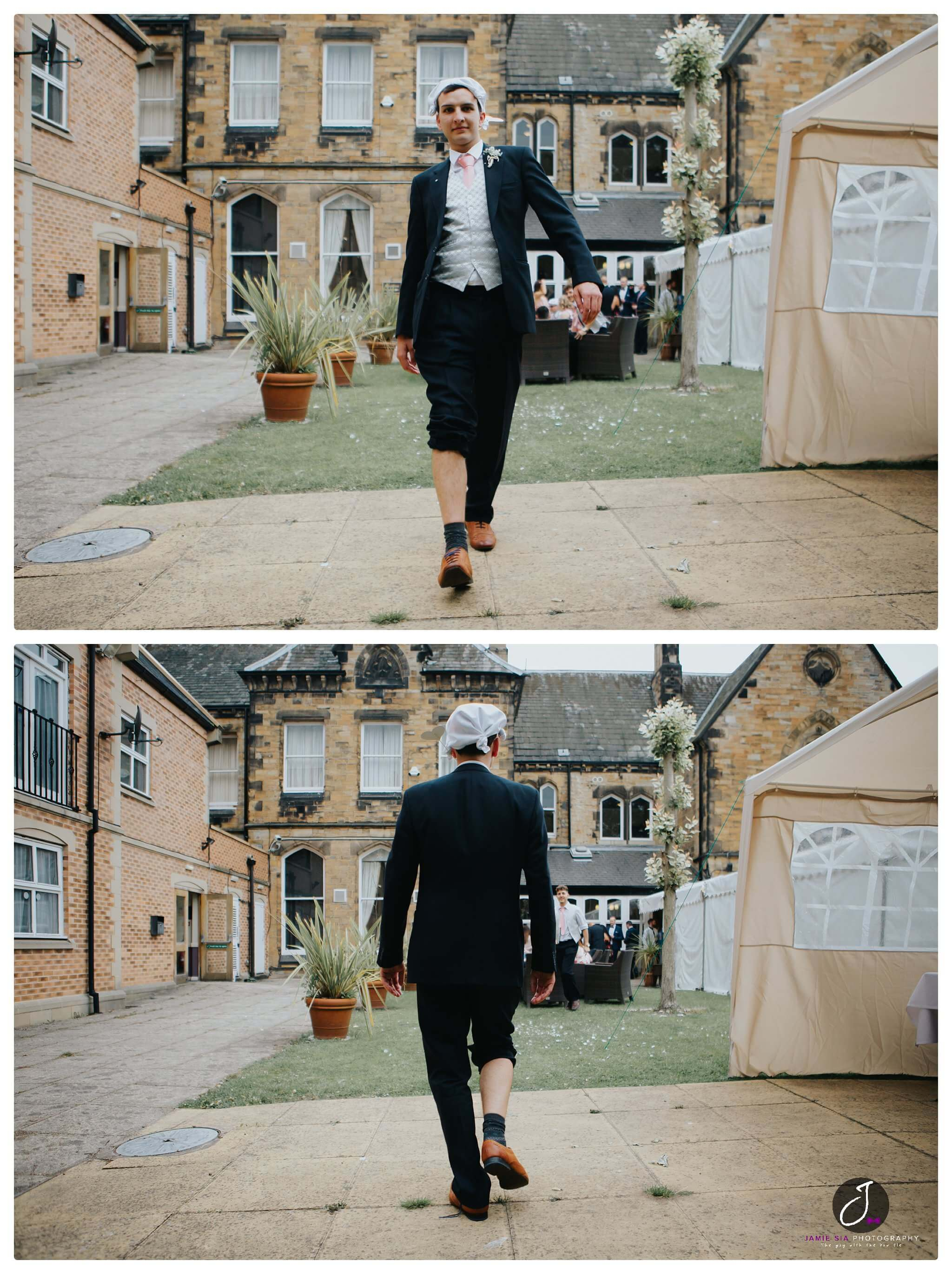 Fun wedding imagery Yorkshire Wedding Photographer Jamie Sia Photography